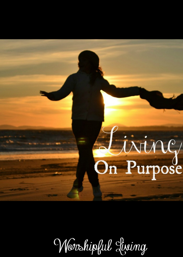 Life is short. We are not promised tomorrow. Not for ourselves or those we love. We need to be living on purpose!