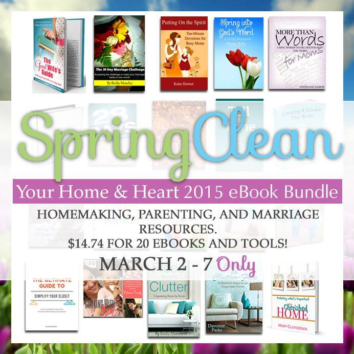 Spring Clean Your Home and Heart Bundle