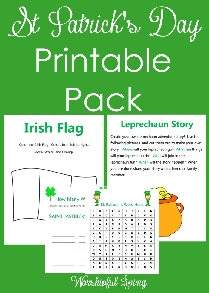 St Patrick's Day is loads of fun- and can be a great day for a fun day of Homeschooling with these simple activities!