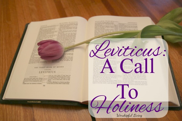 Leviticus A Call To Holiness 2