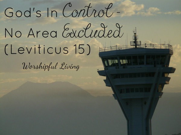 God's In Control – No Area Excluded