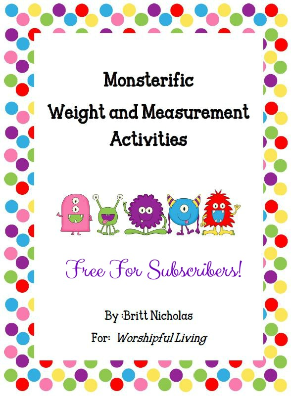 Monsterific Measurement Pack *Free*