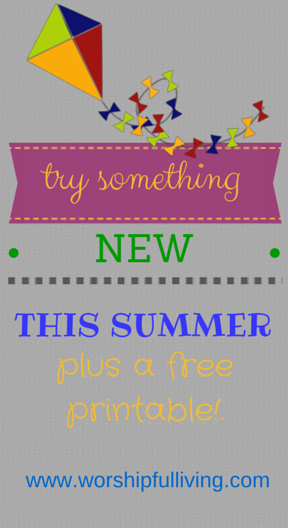 Try Something NEW This Summer *Free Download*