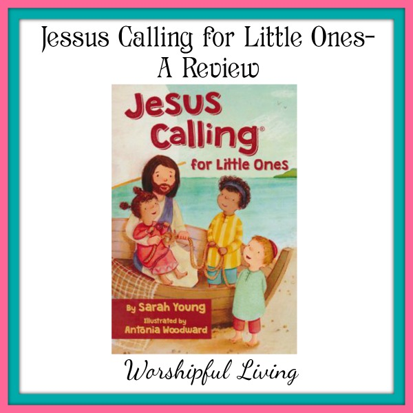Jesus Calling is a great devotional for little ones ages 2-6. The words are simple, yet give great encouragement to little hearts.