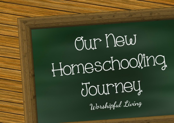 Our New Homeschooling Journey