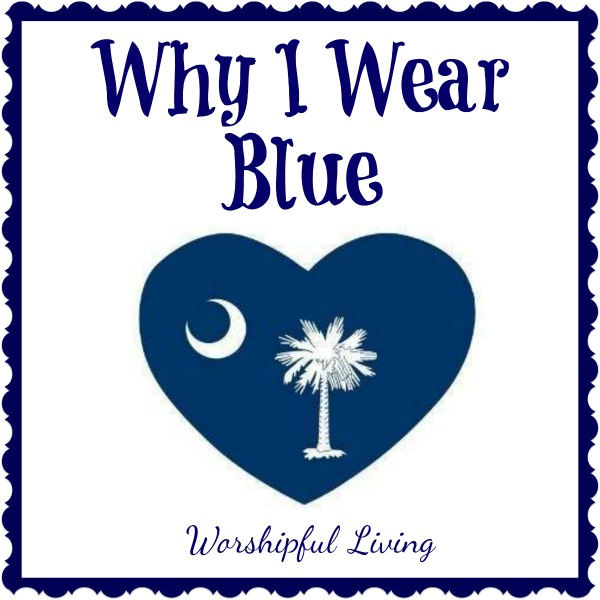 Why I Wear Blue