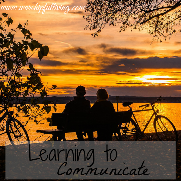 Learning to Communicate: The First Month of Marriage