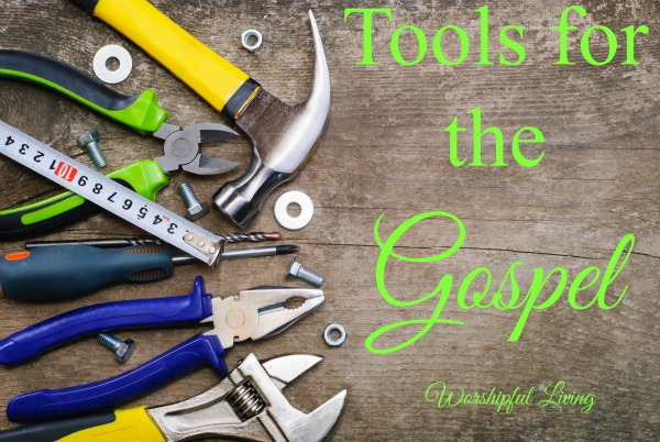 God has given us all tools that we can use for the spreading of the gospel. What are yours and how are you using them?