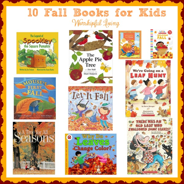 If you are looking to do some cuddling and reading this fall, these fall books are sure to be ones you will want in your library!!