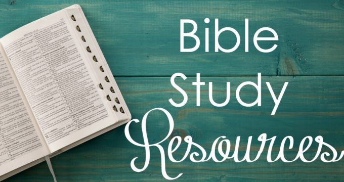 My Favorite Bible Study Tools