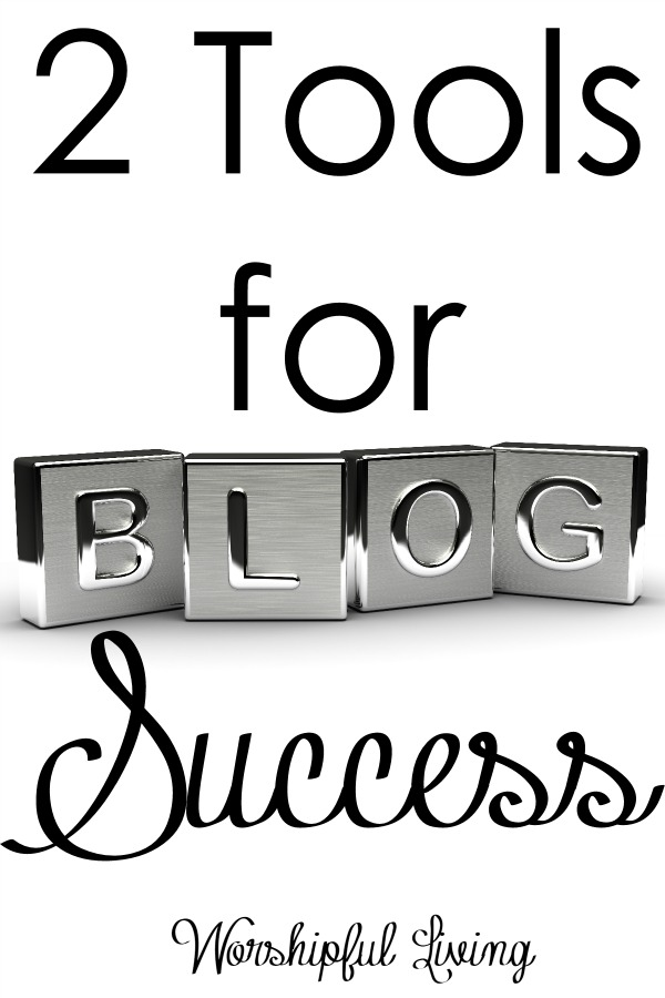 Are you looking to be successful in blogging? These are two tools I have used that have been the key to success in blogging!
