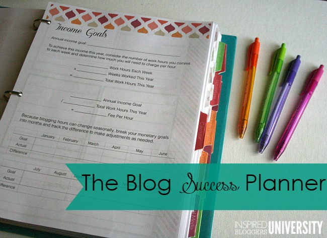 If you are wanting to be successful in the blogging world- then you need these two tools to do it! The Blog Success Planner and The Inspired Bloggers University!