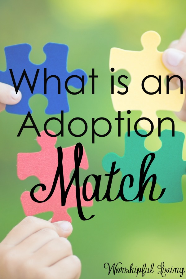 You might have heard the terms adoption match - but had no clue what that means. Come find out more!