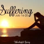 Suffering. What is it. Where does it come from? Why does it happen? What can we do to help those who are suffering?