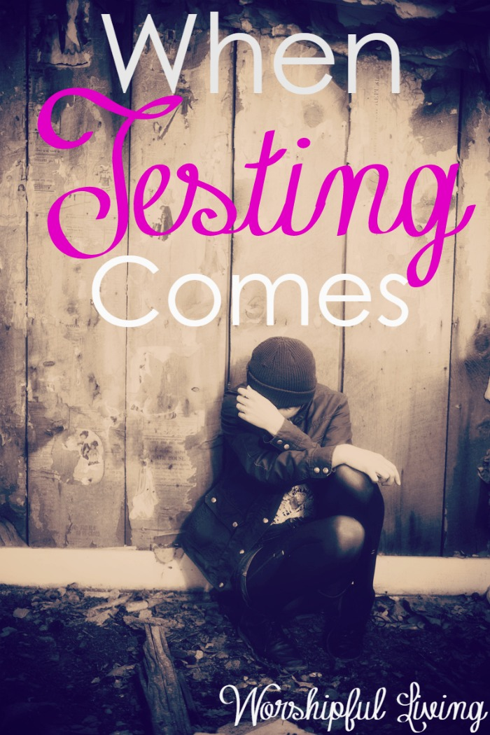 Testing comes. Every one of us face test in our lives. Yet, what we do with that testing is what shows our character, and who we really are. What happens when testing comes in your life? Job 1-5 shares much about what our response should look like.