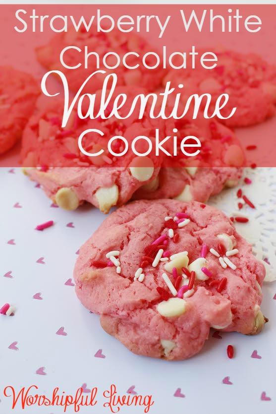 Valentine's Day is right around the corner - and these Valentine Cookies are a perfect treat to show your whole family how much you love them.