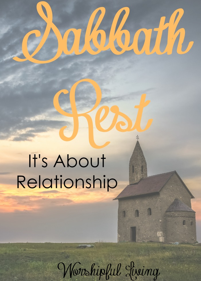 Rest is so important god made the sabbath for us to rest and we need