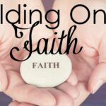No matter what is going on in life, we need to hold on to our faith. Our God is never changing!
