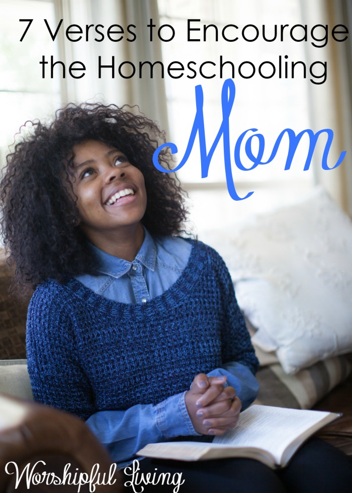 Homeschooling moms need encouragement- for their hearts and their souls. We need reminded why we are doing this and that are calling is from God.