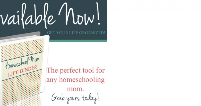 Making a Plan: Life Planner {Homeschool and Mom Editions!}