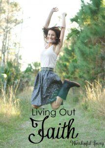 Living Out Faith