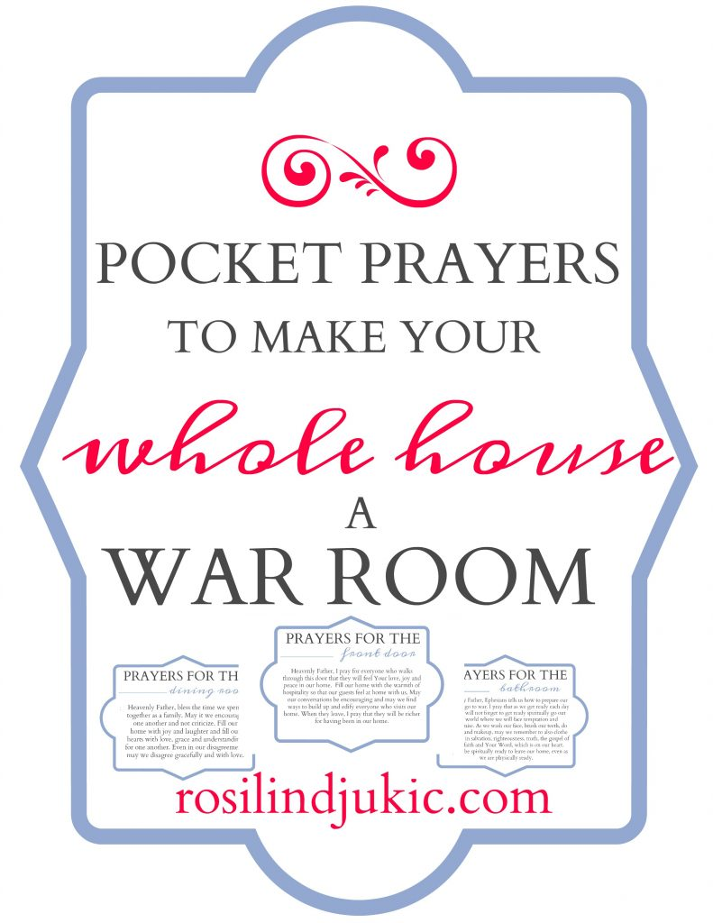 Are you wanting a war room? What if I told you that your whole home could be a war room, in one easy step? What if there was a way that you could carry your war room with you? There is- come find out more!