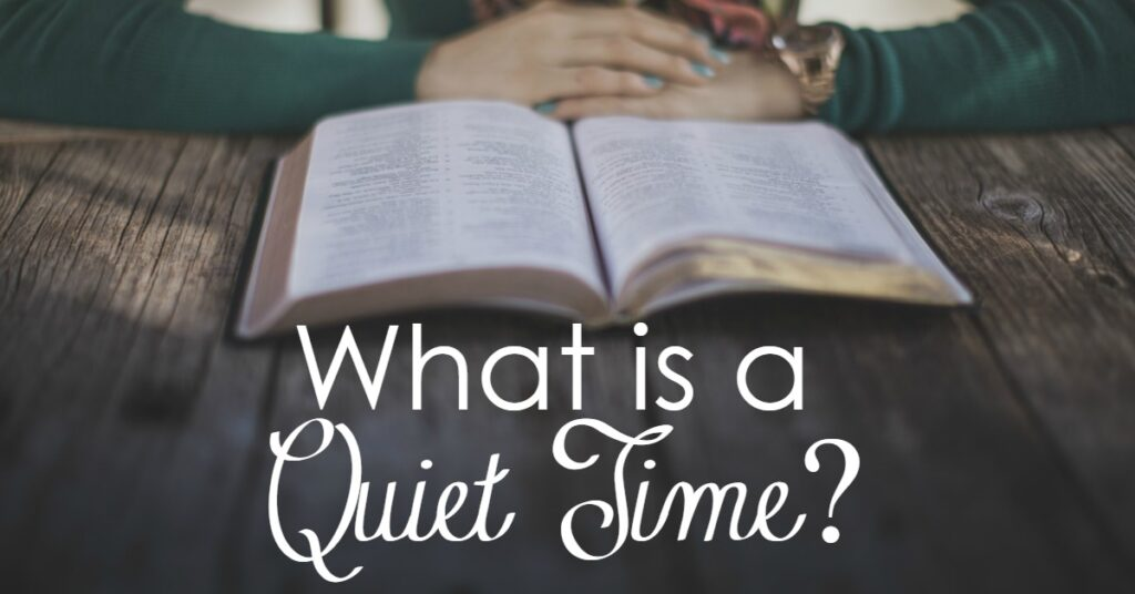 You hear about having a quiet time often at church or Christian circles. But what does that really mean? Quiet sounds good- but how is it really accomplished in today's busy life? Friend, you are not alone. Come, let's walk this road together!