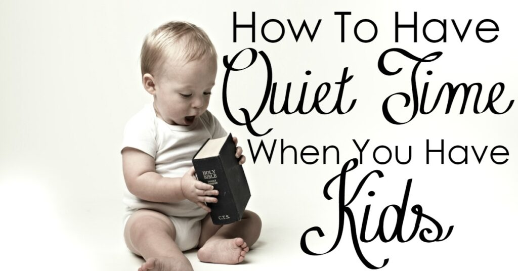 Struggling to have your quiet time now that you have kids? Friend, you are not alone. The struggle was very hard for me too. Then, I found some great ways to engage my kids in quiet time, and today, I am sharing those tips with you!