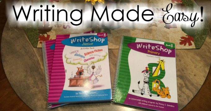 Writing Made Easy : A Review of WriteShop