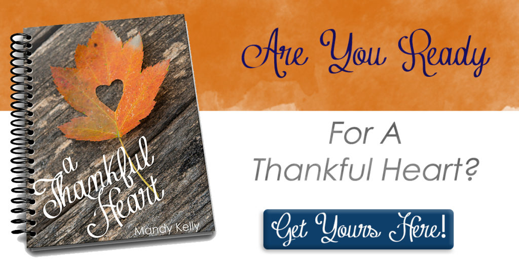 "Are you looking to cultivate an attitude of Thanksgiving this year- but don't know where to begin? Wondering what the Bible has to say about this idea of Thankfulness? Join us on a 23-day journey as we discover how to have ""A Thankful Heart."""