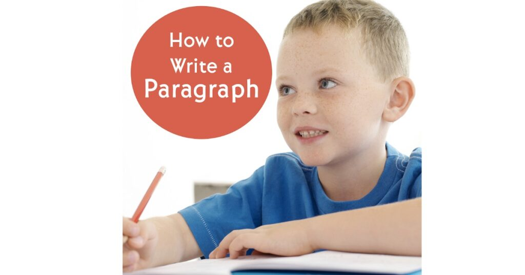 Once a child has firmly learned how to write a sentence, it is time to write a paragraph! Help your children write paragraphs with this great visual approach!