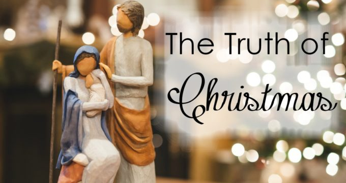 Are you looking to focus your kids on the truth of Christmas, without feeling stressed to prepare more activities? This simple advent study will do just that!