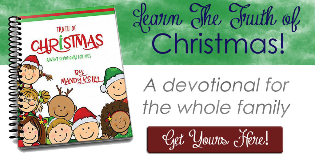 The Truth of Christmas is a simple children's devotional guide allowing families to read the Word of God and be reminded of truth.