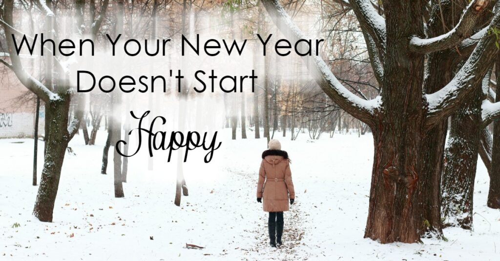 What happens when your new year doesn't start happy? When your fresh start doesn't happen? Here is one way to redeem it!