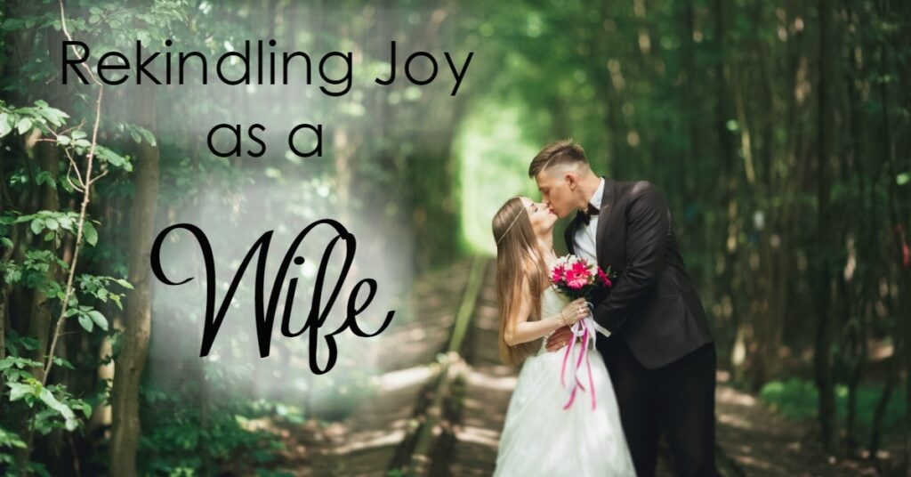 Do you remember how it felt to be a new wife?Have you lost your joy in being a wife somewhere along the way?Here are some ways to rekindle joy as a wife!