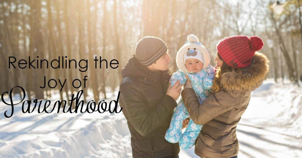 Parenthood is probably one of the hardest jobs on the planet. We can quickly lose joy in our highest calling. How do we rekindle the joy in parenthood?
