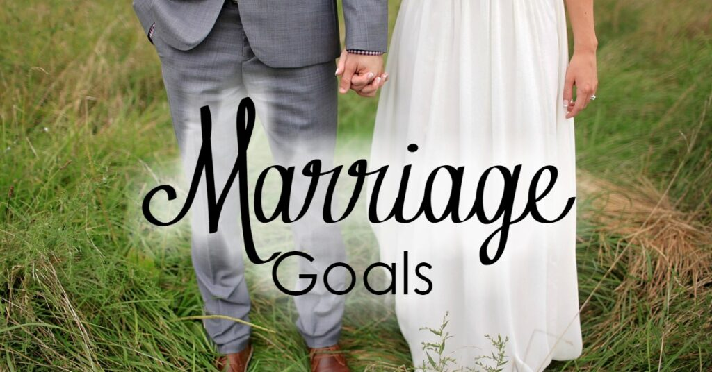 We have goals for many areas of our lives- but what about our marriage? God gave us some clear goals in scripture, and we are going to start there!