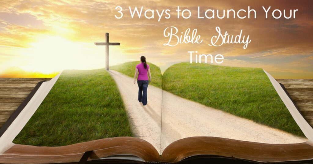 Does your Bible Study need to launch into deeper territory? Are you tired of status quo? Start with these three ways!